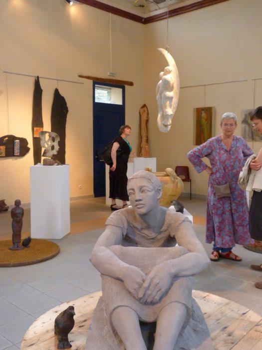 Exposition Michèle Charron-Wolf