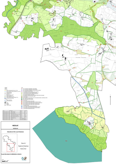 Muzillac - Zonage Sud