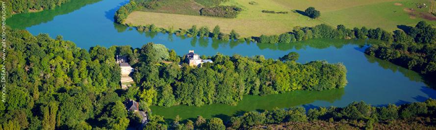 L'étang de Pen Mur (crédit : Arnaud Dréan)
