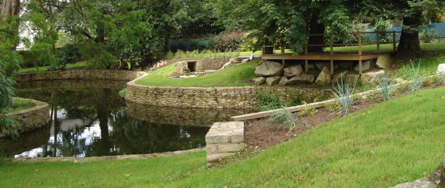 Bassin de l'enclos